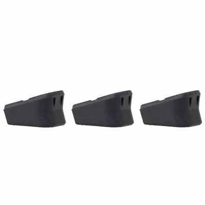 (3 Pack) Plus 2  Magazine Base Extension for Glock 17 19 22 23 31 32 34 35 37 38