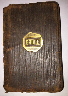 RARE 1925 Lumber Grading Rules Forest Book  E L BRUCE Gold Leaf Southern History