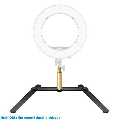 Neewer LED Ring Light Base Tabletop Stand Support Bracket for Make Up Selfie