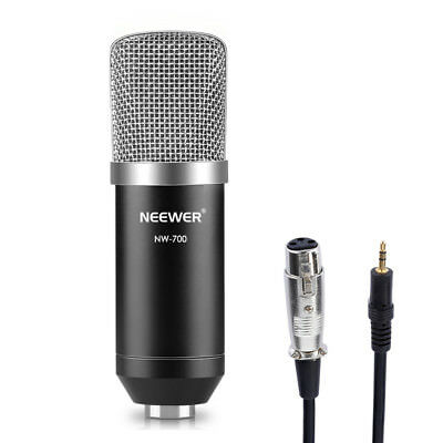Neewer NW-700 Pro Studio Broadcasting & Recording Condenser Microphone Set