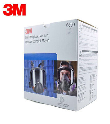 3M 6800 Full Facepiece Reusable Respirator 3M full face Gas Mask Free Shipping