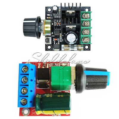 5V-35V/12V~40V PWM 5A/10A 20khz LED DC Motor Controller Speed Regulation Dimmer