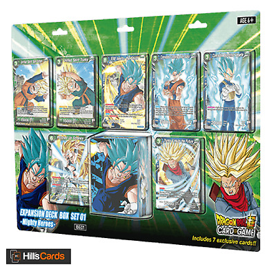 Dragon-Ball Super Card Game: Mighty Heroes - Expansion Deck Box Set - Z BE01