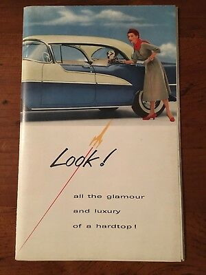 Vintage OLDSMOBILE THE Ninety-Eight Deluxe and Super 88 Holiday Sedan Catalogue
