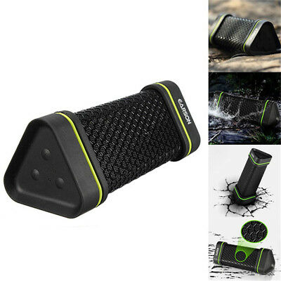 Portable EARSON Bluetooth Speaker Wireless Bass Stereo Black for PC Tablet Phone