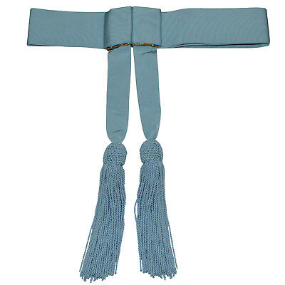 "Royal Air Force Sky Blue waist Sash with tassels - Approximately 38"" - Brand NEW"