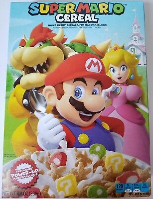 2018 Super Mario Cereal Limited Edition New Design Box Free Worldwide Shipping