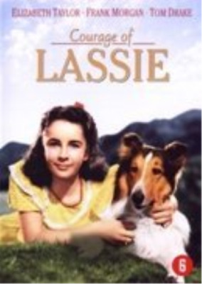 Courage of Lassie - Dutch Import  DVD NUEVO