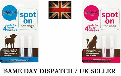 Pro Flea Tick Lice Front Spot On for Small Medium Large XL Dogs Cats LINE UK
