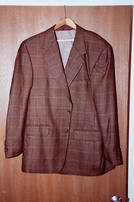 2 suitcoats 44R: Both excellent condition. One is pure Cashmere!