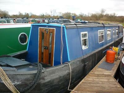 """Orion"" 1935 50ft Harland & Wolff Wooden Trad Narrowboat + 1954 Lister FR3"