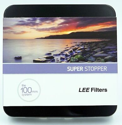 Lee 100mm Series Super Stopper ND Filter brand new in package FREE SHIPPING!!!