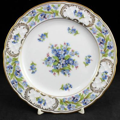 Schumann FORGET-ME-NOT 2 Bread & Butter Plates A+ CONDITION