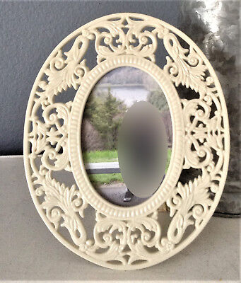 """BEAUTIFUL THE RENAISSANCE LACE COLLECTION BY LENOX OVAL PHOTO FRAME 6.5"""" x 8"""""""