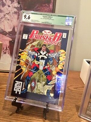 The Punisher 2099 #1 1 CGC 9.6 White Pages Signed Jimmy Palmiotti 1/1 on eBay !!