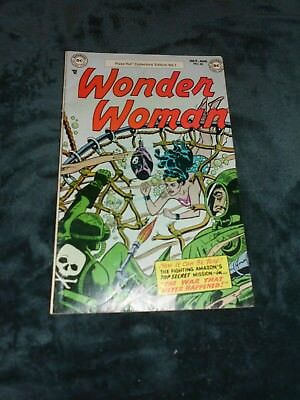 Comic; Pizza Hut Special 1977 Of The Wonder Woman #60 From 1953 --