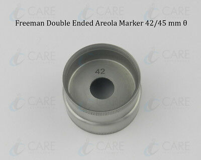 Freeman Double Ended Areola Marker, 42/45 mm θ, Care Breast Markers