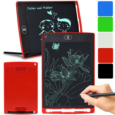 8.5'' inch Digital LCD Writing Drawing Tablet Pad eWriter Boards Notepad Stylus