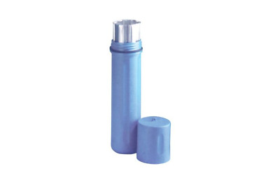 Rod Guard Polyethylene Canisters, Airtight for 18 In Electrodes, Blue