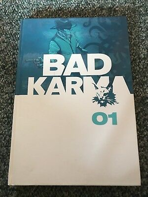 Bad Karma HC NM! Andrew MacLean, Phil Hester, Christopher Mitten, Nathan Fox