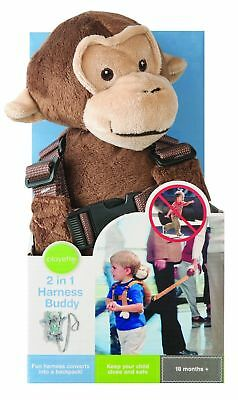 Playette 2 In 1 Harness Buddy - Barry the Chimp