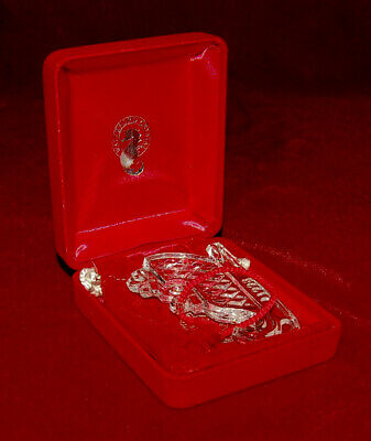 """WATERFORD Crystal """"Sleight"""" Memories 1998 Ornament MADE IN IRELAND Beautiful!"""
