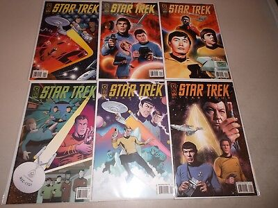 Star Trek: Year Four  #1-6 (Complete 2007 IDW series) 1 2 3 4 5 6