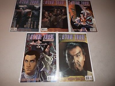 Star Trek Klingons: The Blood Will Tell #1-5 (Complete 2007 IDW series)  lot set