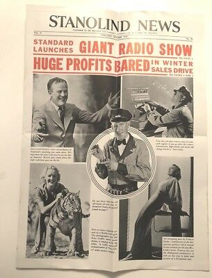 Standard Service News Illustrated Magazine AMOCO October 1935 Betty Grable