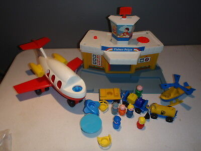 Vintage Fisher-Price Little People Airport 2502