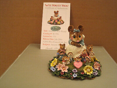 Wee Forest Folk Annette's Wee World -  Ltd. Edition with Authenticity Card