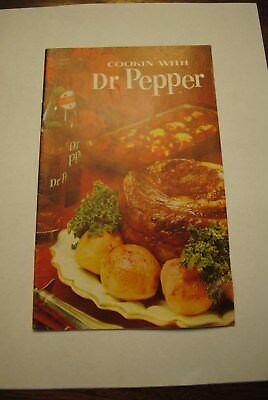 Vintage Dr Pepper Cookbook Cookie' With Dr Pepper Salvaged From Paragould Plant