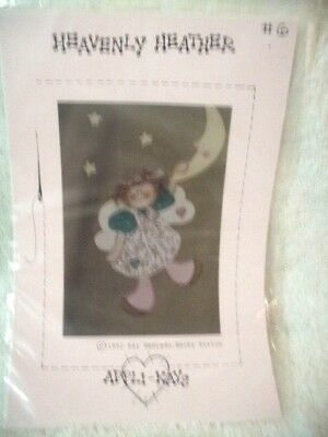 Craft Pattern Heavenly Heather Applique Pattern for Sweatshirt Uncut, Unused!