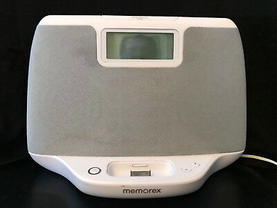 ipod docking station speaker system memorex mi2031 pink white rh picclick com