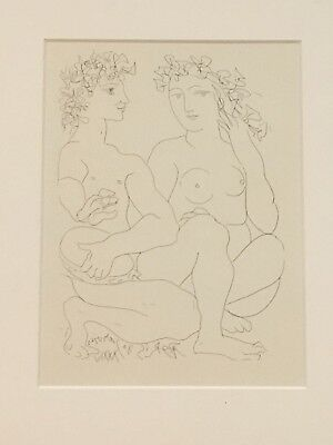 Pablo Picasso - Limited Edition Lithograph - The Vollard Suite