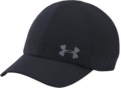 NEW UNDER ARMOUR heat gear running fly by cap women black 1291073 adjustable