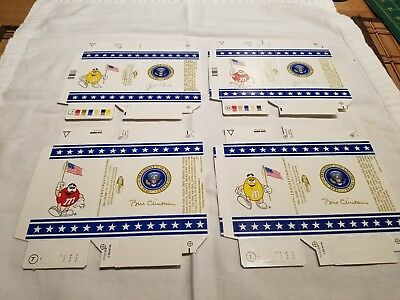 Official President Clinton, Bush Presidential Seal M&M's Authentic Air Force One