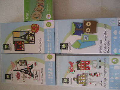 CRICUT CARTRIDGES UNLINKED! New and Used
