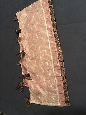 Cocal Daniella Window Valance EUC