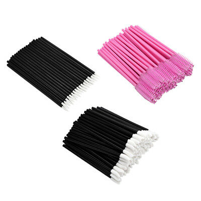 150pcs Brosses Pinceaux Applicateur Jetable à Mascara / Eyeliner / Lip