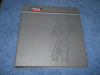 Lincoln Electric Welding Binder of Manuals Guides Arc Welders Safety MIG/MAG