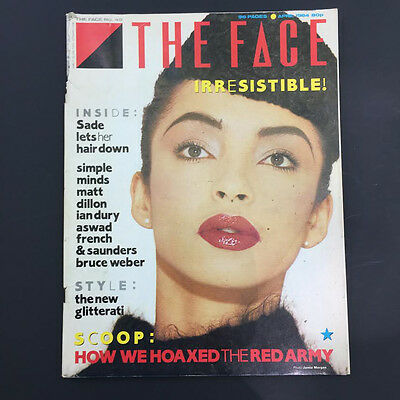Lot of 3 Vintage issues of THE FACE, 80s England, RARE
