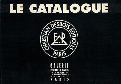 CHRISTIAN DESBOIS EDITIONS: CATALOGUE 1981 - 1992 Comme Neuf - COLLECTOR -