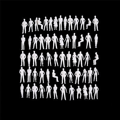 10 PCS 1:50 scale model human scale HO model ABS plastic peoples Rh