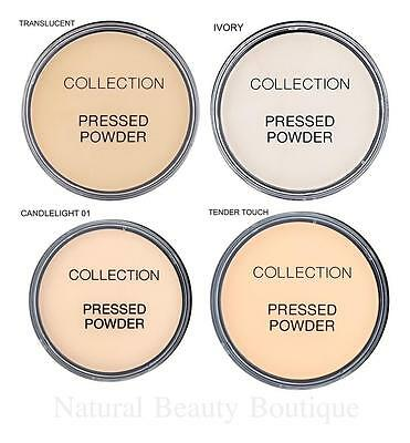 COLLECTION MAKEUP Foundation Setting PRESSED Face POWDER with UVA UVB SUNSCREEN
