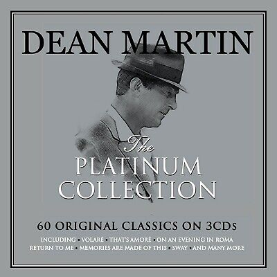 DEAN MARTIN  * 60 Greatest Hits * NEW 3-CD Box Set * All Original Songs * Volare