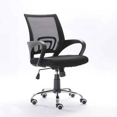Ergonomic MidBack Mesh Office Chair Executive Swivel Black Computer Home Desk