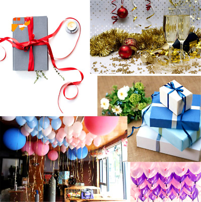 100Yard Colorful Balloon Ribbon Party Decorations Balloons Curling Ribbon Roll