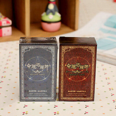 72PC Destiny Tarot Fortune Telling Cards Table Tour Games Toys Gift