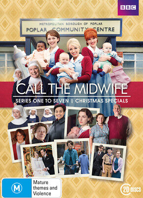 Call the Midwife series season 1+2+3+4+5+6+7 & Christmas Special DVD Box Set R4